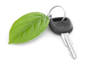 How can you, as a driver, help the environment?