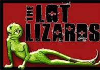 A lot lizard is: