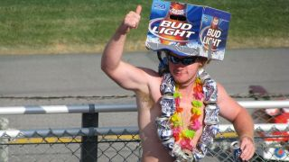 Do NASCAR drivers drink during races?