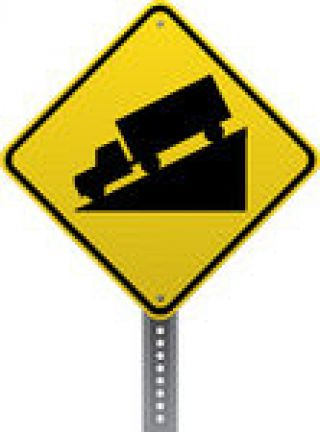 What does this road sign indicate?